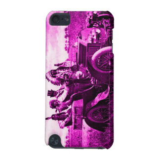 APACHES AND GERONIMO DRIVING A MOTOR CAR iPod TOUCH (5TH GENERATION) CASES