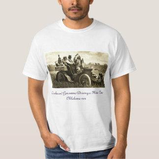 APACHES AND GERONIMO DRIVING A MOTOR CAR T-Shirt