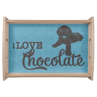 APAL - Chocolate Labrador   Dog Lovers Tray