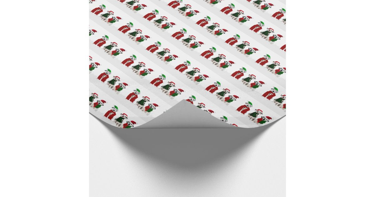 Apal Christmas Dalmatian Dogs Wrapping Paper