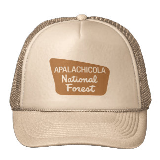 Apalachicola National Forest (Sign) Cap