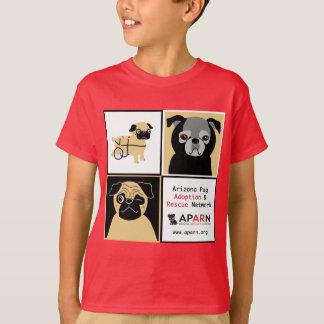 APARN Rescue Pugs Kids' Hanes T-Shirt