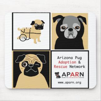 APARN Rescue Pugs Mousepad