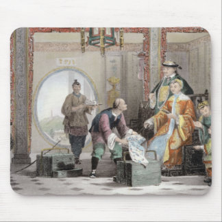 Apartment in a Mandarin's House, near Nanking, fro Mouse Mat