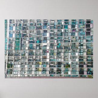 Apartment Windows Poster