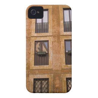 Apartment windows, Rome, Italy 2 iPhone 4 Case