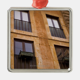 Apartment windows, Rome, Italy Christmas Ornament