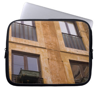 Apartment windows, Rome, Italy Laptop Sleeve