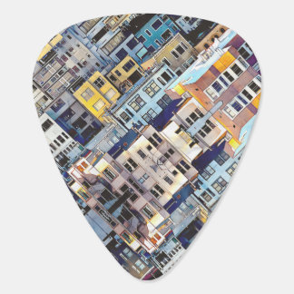 Apartments In The City Guitar Pick