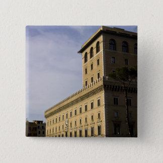 Apartments, Rome, Italy 3 15 Cm Square Badge