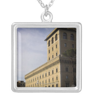Apartments, Rome, Italy 3 Silver Plated Necklace
