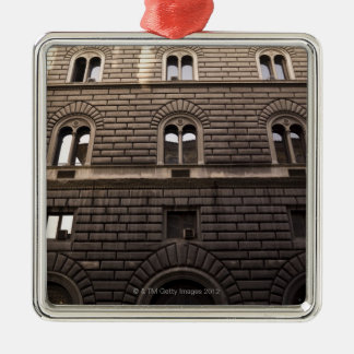 Apartments, Rome, Italy Silver-Colored Square Decoration