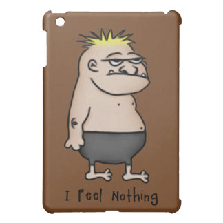 Apathetic Cartoon Guy iPad Mini Case