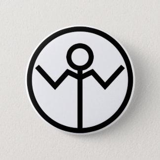 Apathy Corp 6 Cm Round Badge