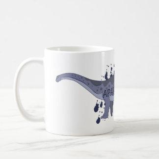 Apatosaurus Basic White Mug