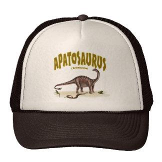 Apatosaurus (brontosaurus) trucker hat