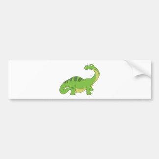 Apatosaurus Bumper Sticker