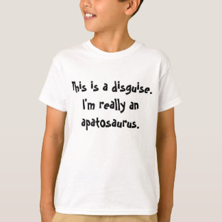 Apatosaurus costume tshirts