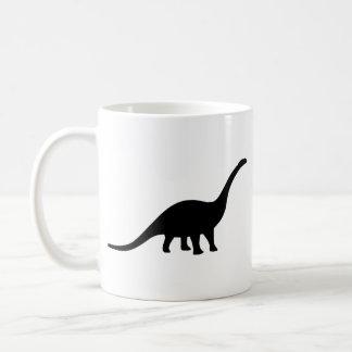Apatosaurus Dinosaur Coffee Mugs