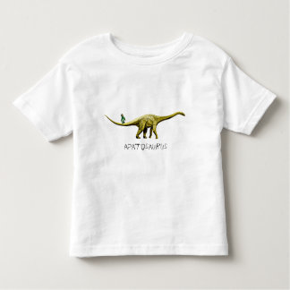 Apatosaurus & Grape Green Ape Toddler T-Shirt