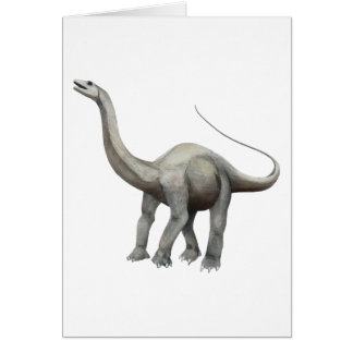 Apatosaurus Greeting Card