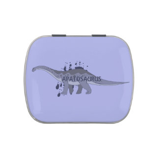 Apatosaurus Jelly Belly Candy Tins