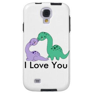 Apatosaurus kiss - Case Samsung G S4 Galaxy S4 Case