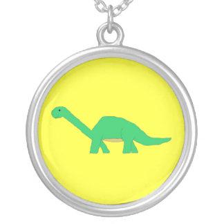 Apatosaurus necklace