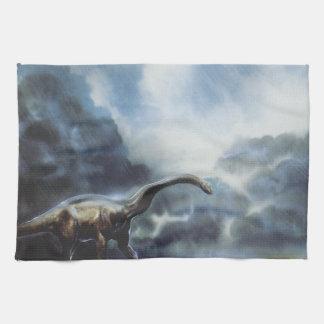 Apatosaurus or Brontosaurus Towels