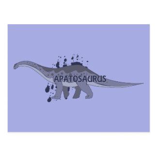 Apatosaurus Postcard