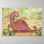 Apatosaurus Poster