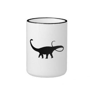 Apatosaurus Silhouette Coffee Mug