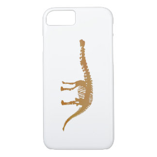 apatosaurus skeleton iPhone 7 case