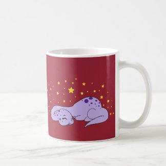 Apatosaurus sweet dreams -Mug Basic White Mug