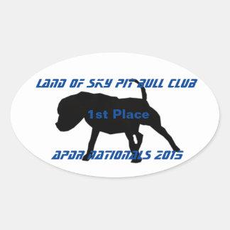 APBT APDR Nationals Oval Sticker