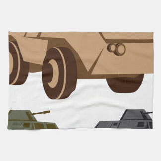 APC armored personnel carrier Hand Towels