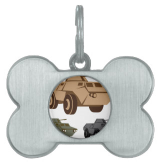 APC armored personnel carrier Pet ID Tag