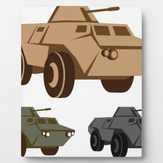 APC armored personnel carrier Photo Plaques