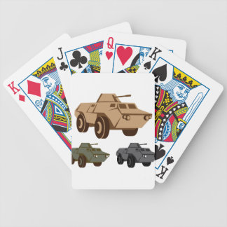 APC armored personnel carrier Poker Deck