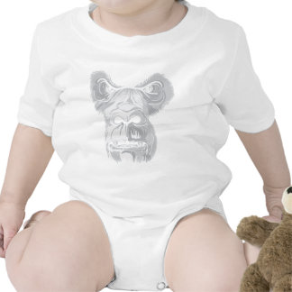 Ape 2 Gorillas Primate ~ Customize Gift Template Tee Shirt