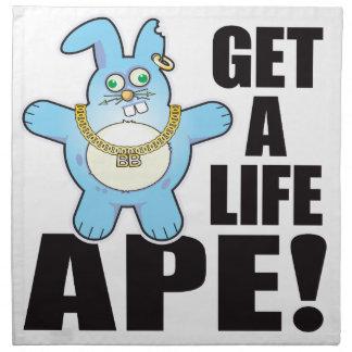 Ape Bad Bun Life Napkin