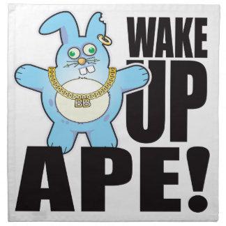 Ape Bad Bun Wake Napkin
