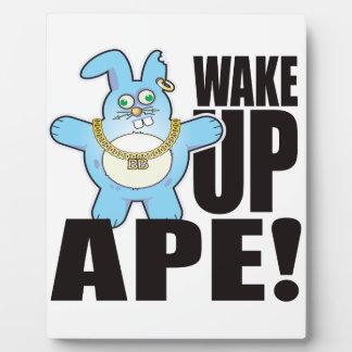 Ape Bad Bun Wake Plaque