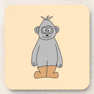Ape in Brown Boots. Coaster