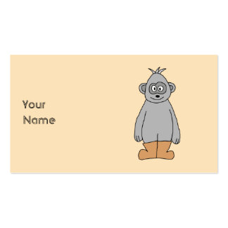 Ape in Brown Boots. Pack Of Standard Business Cards