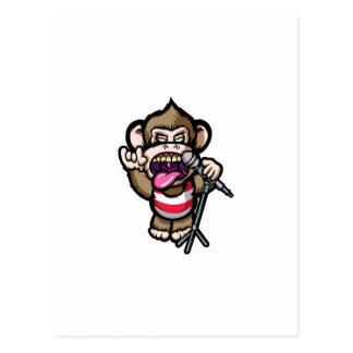 Ape Mic Postcard