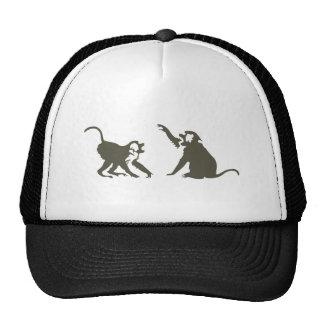 Ape of apes mesh hat