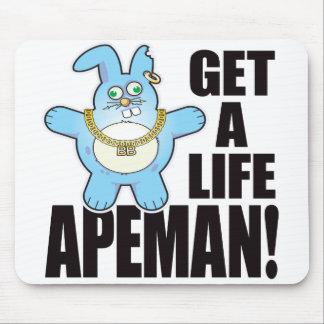 Apeman Bad Bun Life Mouse Mat
