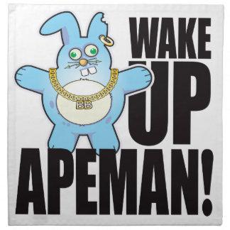 Apeman Bad Bun Wake Napkin