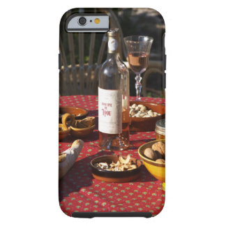 Aperitif and appetizers prepared: bread, olives, tough iPhone 6 case